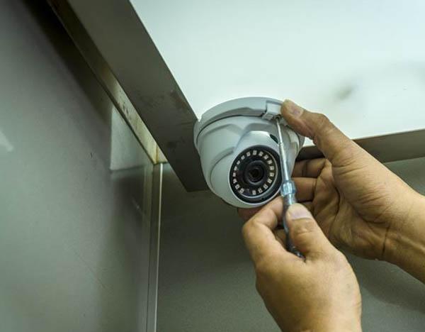 підключенні камер в ліфті