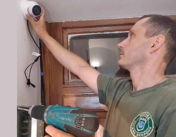 інженер з встановлення систем відеоспостереження