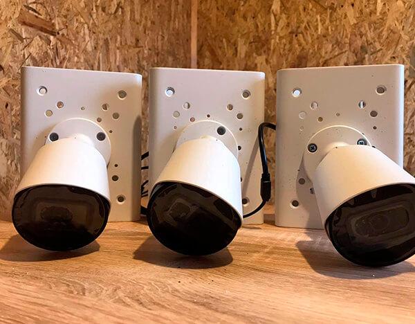 набір циліндричних камер для підключення