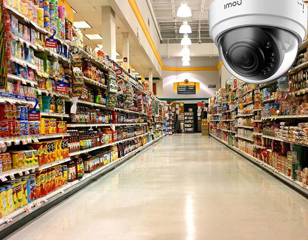 функції відеоспостереження в магазині